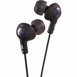 JVC GUMY PLUS INNER EAR HEADPHONES (BLACK)