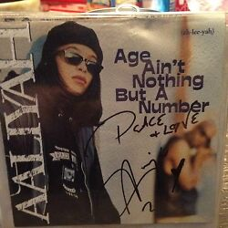 AALIYAH Guaranteed Authentic 100% Signed CD 1994 Age Ain't Nothing But A Number