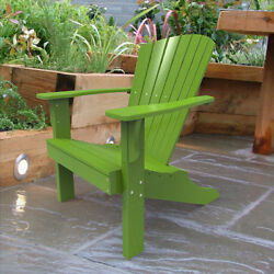 Malibu Outdoor Living Hyannis Adirondack Chair Polywood Lime White Red Yellow