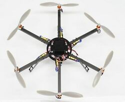 ArduCopter Open Source UAV Multicopter Wood Model Replica Small Free Shipping $449.99