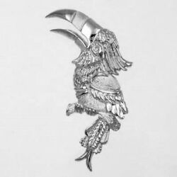 925 STERLING SILVER  TOUCAN TROPICAL BIRD CHARM  43-2