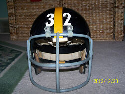 FRANCO HARRIS 1972 Helmet! 2003 UD Patch Collection! Immaculate Reception?!?!?!?