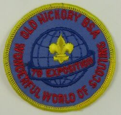 Old Hickory Council 1978 Wonderful World Of Scouting [H2774]