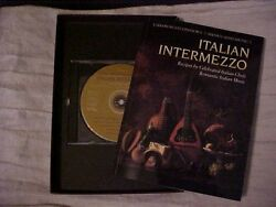 Italian Intermezzo Cookbook Recipes Italian Chefs amp; Romantic Italian Music CD $9.99