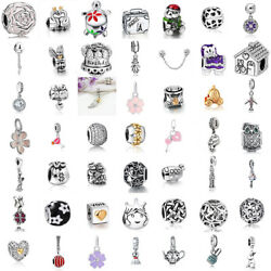 European Charms Silver Cartoon Love Beads Pendant Fit 925 sterling Bracelet