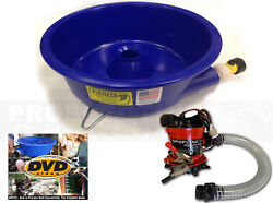 BLUE BOWL PAN GOLD Prospecting CONCENTRATOR How 2 DVD PUMP NEW IMPROVED USA $124.95