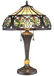 New Tiffany Style Sunrise Table Lamp Stained Glass Tiffany style lighting $169.00