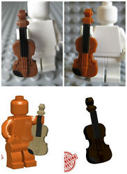 Custom VIOLIN Instrument for Lego Minifigures Musician Pick Your Style $1.15