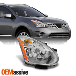 Fits 08 14 Rogue SUV Halogen Type Headlight Passenger Right Side Replacement $76.99