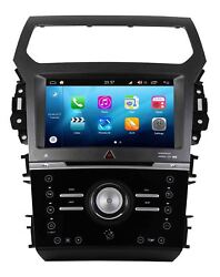 Android 8.0 Car GPS Navigation DVD Wifi Radio Stereo For Ford Explorer Manual AC