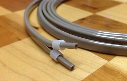 Dental Air Water Syringe Tubing Hose 7' with Sleeve Fittings Surf Color $12.99