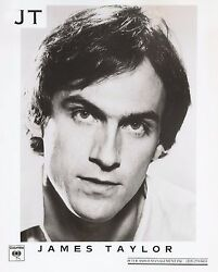 JAMES TAYLOR ~ COLUMBIA RECORDS JT NF PRESS PHOTO c.1977 Secret O'Life ++++
