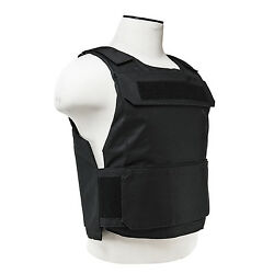 NcStar Discreet Lightweight Plate Carrier Tactical Vest Police SWAT XSM-S BLACK $19.95
