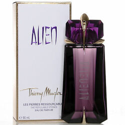 Alien Perfume by Thierry Mugler 3 oz EDP Spray for Women Refillable NEW