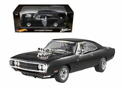 HOT WHEELS 1:18 THE FAST & THE FURIOUS DOM'S 1970 DODGE CHARGER DIECAST CMC97