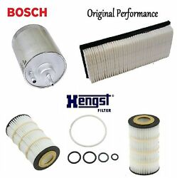tune up kit air oil fuel filters for mercedes-benz c230 2006-2007