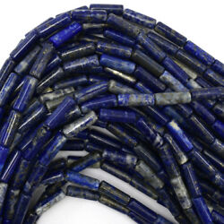 13mm natural blue lapis lazuli tube beads 15.5