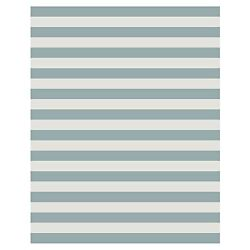 Budge Naples Outdoor Patio Rug RUG810GY2 8ft Long x 10ft Wide Slate Gray