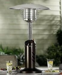 Patio Heater Outdoor Tall Stable Portable Tabletop Gas Anti Tilt 11000 BTU's