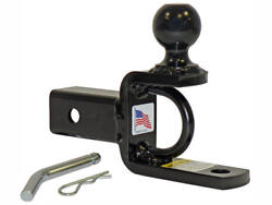 Rigid Hitch Inc. ATV UTV Ball Mount W 2 Inch Hitch Ball For 2 Inch Receivers