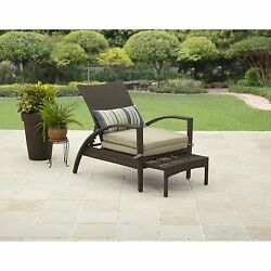 Outdoor Chaise Lounge Chair Pool Lounger Adjustable Recliner NEW Patio Furniture