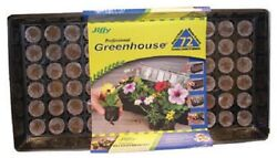 (1) JIFFY PROFESSIONAL GREENHOUSE 72 CELL SEED STARTING TRAY KIT INDOORS - J372