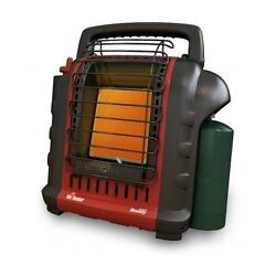 Portable Space Heater Indoor Outdoor Radiant Propane Gas Heat Porch Cabin Room