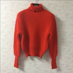 RARE RAF SIMONS × STERLING RUBY Turtleneck Men's Tops Knit Sweater Size M