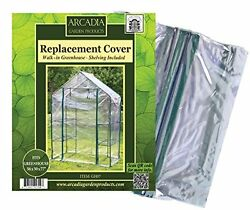 Arcadia Garden Products 2-Sided Walk-In Replacement Cover Greenhouse New