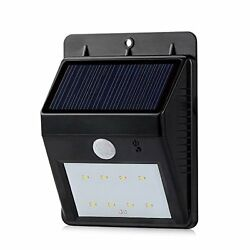 LED SopoTek 8 LED Bright Outdoor LED Lights Solar Powered Motion Sensor Light Pe