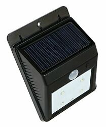 Bright LED Wireless Solar Powered Motion Sensor Outdoor Light DG Sports New