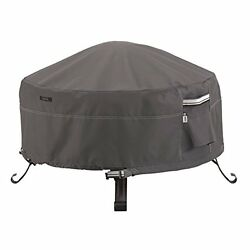 Classic Accessories Ravenna Round Fire PitTable Cover 30in New