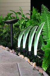 Grand Patio Leaf Guide String Lights with a Solar Panel Outdoor Lightstring New