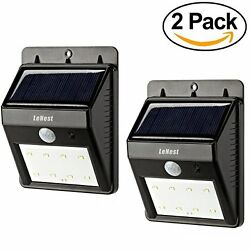 Outdoor Bright Waterproof LED Solar Powered Light Motion Sensor Detector For Pat