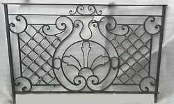 Antique Wrought Iron Balcony #JC3800