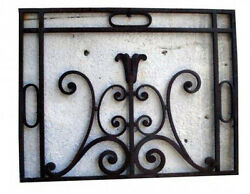 Antique Wrought Iron Balcony #2556
