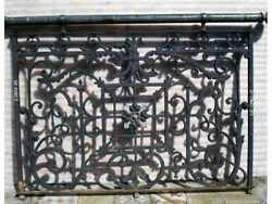 Antique Iron Balcony #2300