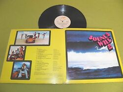 Sounds Wild 2 1970 South Africa  Surf  Vintage Car Sleeve  Gainsbourg Beatles
