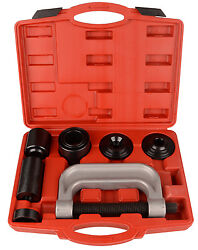 Heavy Duty 4 in 1 Ball Joint Press & U Joint Removal Tool Kit with 4x4 Adapters $47.95