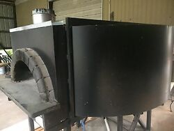 Gas Fired Wood burning pizza oven from Johnny Carinos Restaurant