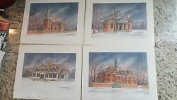 C. Butler Pendley Limited Edition Prints (4) Unframed