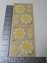 PROVO CRAFT BOUQUET OF WHITE FLOWERS STICKERS SCRAPBOOKING A2491 $0.99