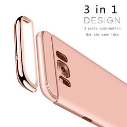 Slim Luxury Electroplate Hard Shockproof Case Cover For Samsung Galaxy S8  Plus