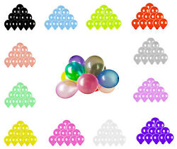 100pcs Colorful Latex Balloon 10 inch Wedding Birthday Bachelorette Party $5.99