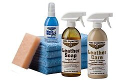 Leather Care Kit Aircraft Quality for your RV Car Boat and Furniture Meet Boe...