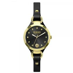 Watch SOM05 gold black woman Versus Versace classic Leather wk stock online new