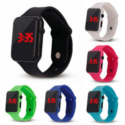 Fashion Electronic Digital Waterproof LED Display Watch for Unisex KidsChild H7