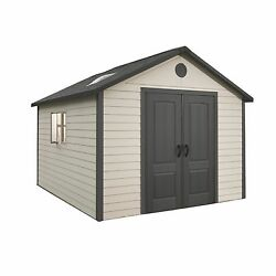 Lifetime 11' x 11' Storage Shed Building Skylights UV Protected And Weatherproof