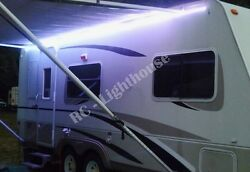 RV Awning LED Light Strip - Boat Camper Deck RGB Multi Colored LEDs 16 Feet