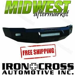 Iron Cross Low Profile Matte Black Front Bumper 16-17 Chevrolet Silverado 1500
